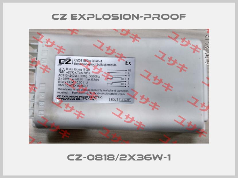 CZ Explosion-proof-CZ0818/2x36W-1 price