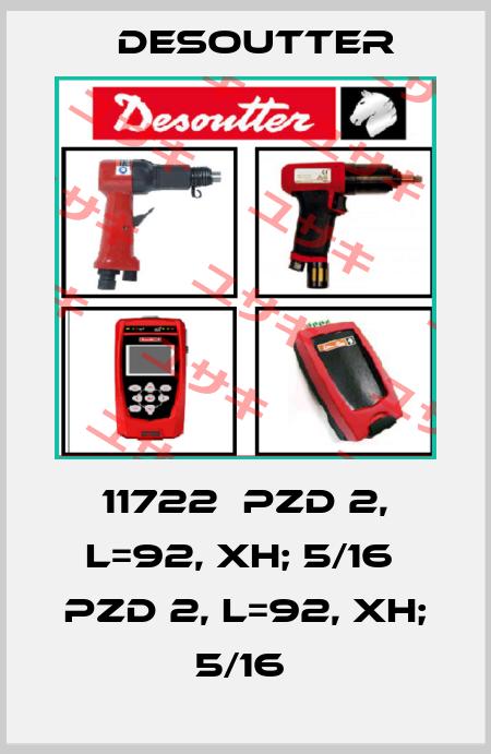 Desoutter-11722  PZD 2, L=92, XH; 5/16  PZD 2, L=92, XH; 5/16  price