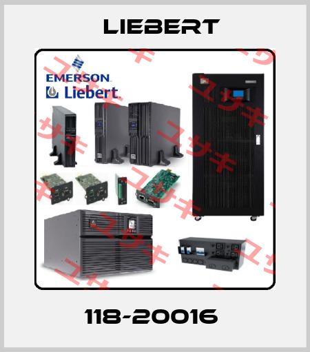 Liebert-118-20016  price