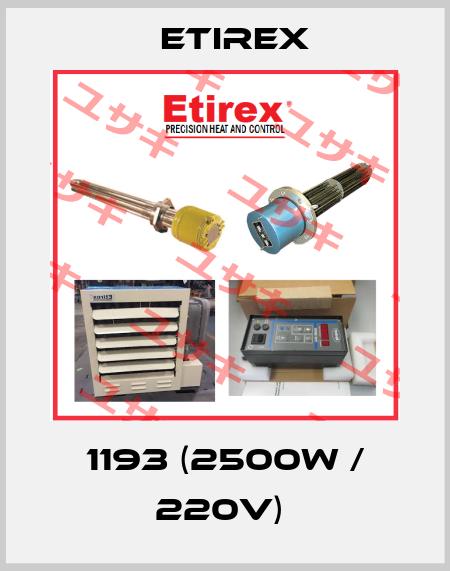 Etirex-1193 (2500W / 220V)  price