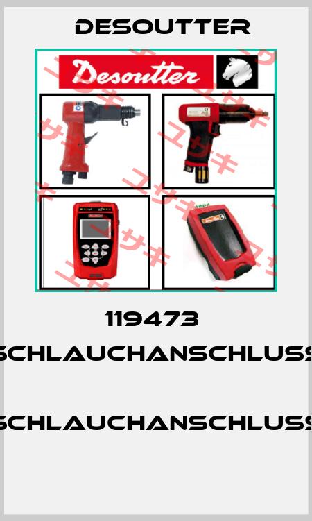 Desoutter-119473  SCHLAUCHANSCHLUSS  SCHLAUCHANSCHLUSS  price