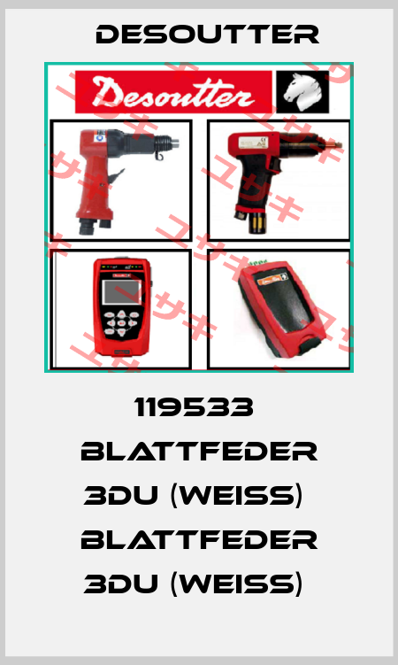 Desoutter-119533  BLATTFEDER 3DU (WEISS)  BLATTFEDER 3DU (WEISS)  price