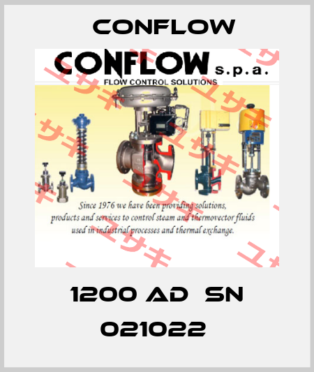 CONFLOW-1200 AD  SN 021022  price