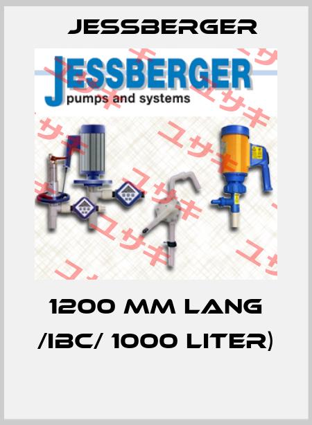 Jessberger-1200 MM LANG /IBC/ 1000 LITER)  price
