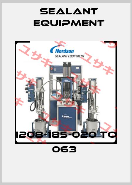 Sealant Equipment-1208-185-020 TO 063  price