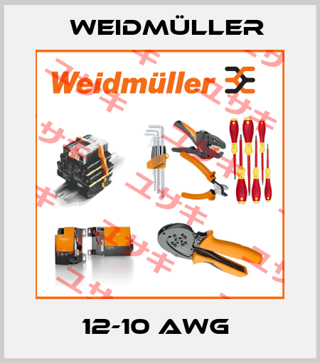 Weidmüller-12-10 AWG  price