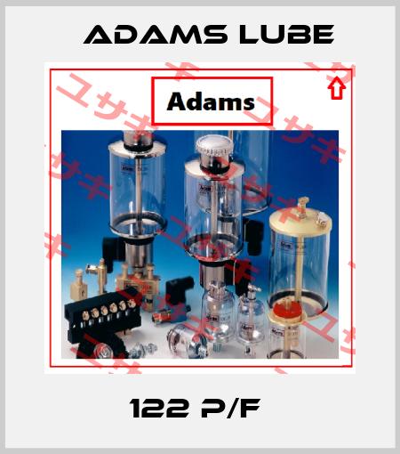 Adams Lube-122 P/F  price
