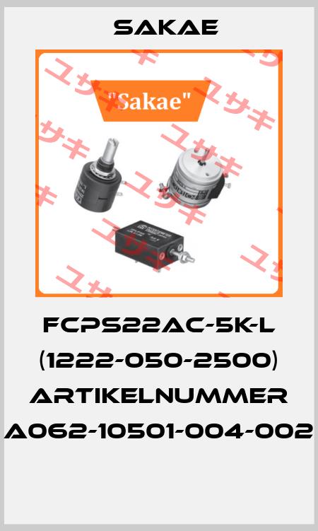 Sakae-FCPS22AC-5K-L (1222-050-2500) Artikelnummer A062-10501-004-002  price