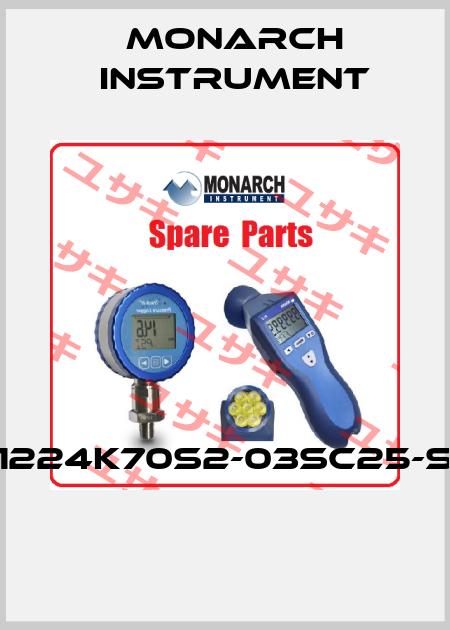 Monarch Instrument-1224K70S2-03SC25-S  price