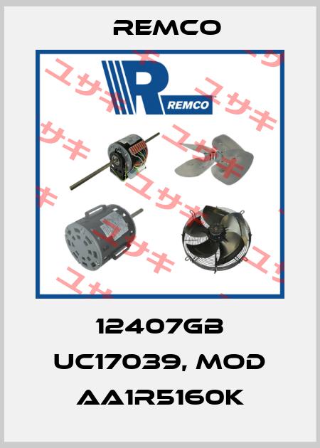 Remco (Regal)-12407GB UC17039, MOD AA1R5160K price