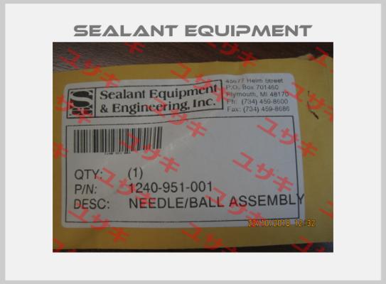 Sealant Equipment-1240-951-001 (SET) (stock) price