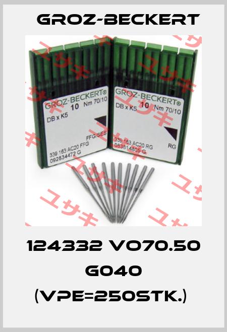 Groz-Beckert-124332 VO70.50 G040 (VPE=250Stk.)  price