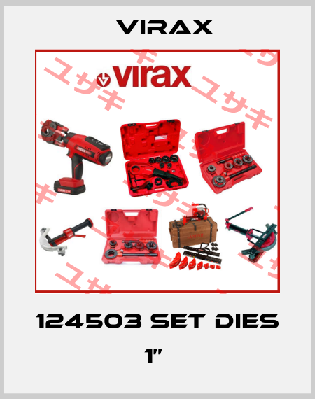 "Virax-124503 SET DIES 1""  price"