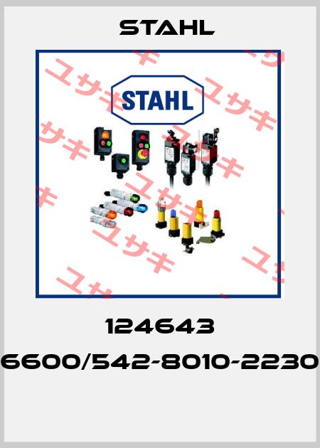 Stahl-124643 6600/542-8010-2230  price