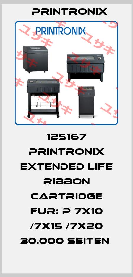 Printronix-125167 PRINTRONIX EXTENDED LIFE RIBBON CARTRIDGE FUR: P 7X10 /7X15 /7X20 30.000 SEITEN  price