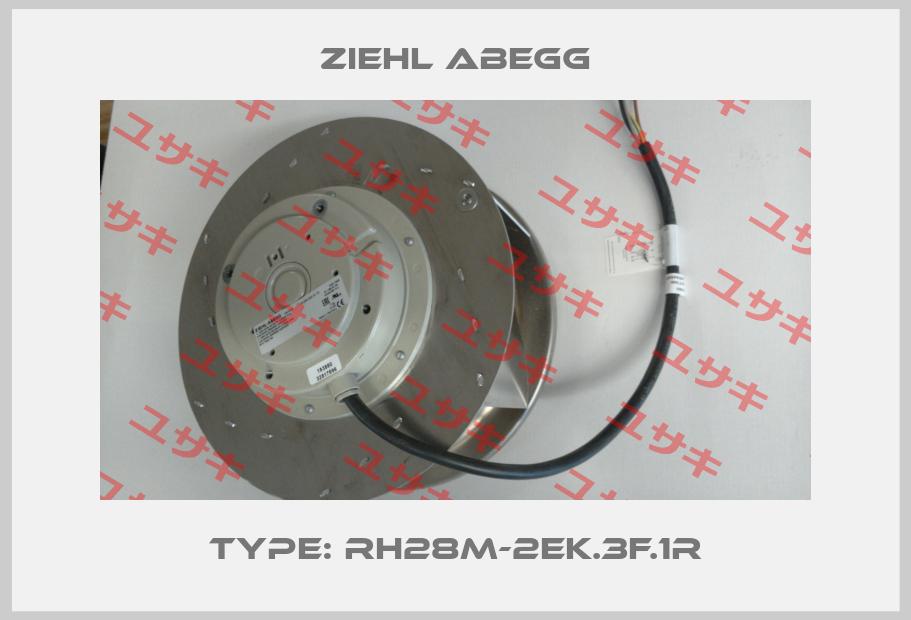 Ziehl Abegg-Type: RH28M-2EK.3F.1R price