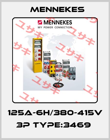Mennekes-125A-6H/380-415V 3P TYPE:3469  price