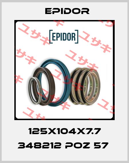Epidor-125X104X7.7 348212 POZ 57  price