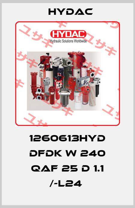 Hydac-1260613HYD DFDK W 240 QAF 25 D 1.1 /-L24  price