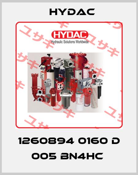 Hydac-1260894 0160 D 005 BN4HC  price