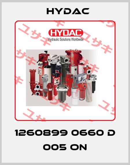 Hydac-1260899 0660 D 005 ON  price