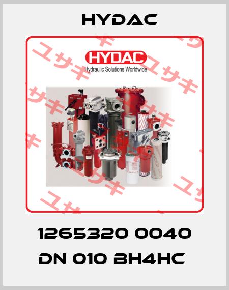 Hydac-1265320 0040 DN 010 BH4HC  price