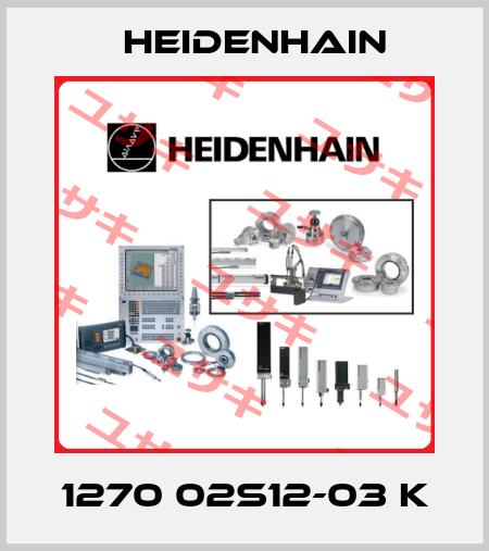 Heidenhain-1270 02S12-03 K price
